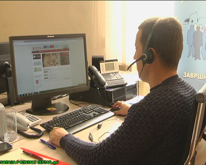 Kontakt centru građani dnevno upute oko 60 poziva (VIDEO)