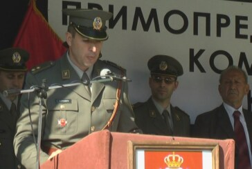 Primopredaja dužnosti komandanta Komande za razvoj Rasinske brigade (VIDEO)