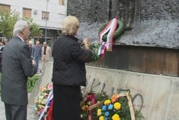 Položeno cveće na Spomenik stradalima u oslobodilačkim ratovima 1912-1918.