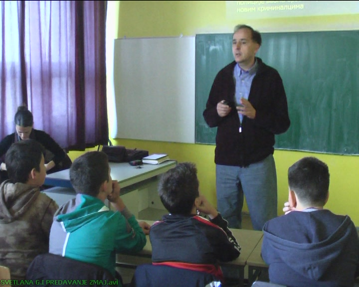 """Predavanje o trgovini ljudima u """"Zmaju"""" (VIDEO)"""