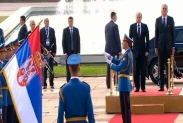 Vojna parada na Ušću i boravak Putina u Beogradu u direktnom prenosu