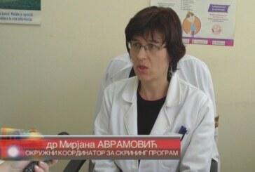 Skrining programi na teritoriji Rasinskog okruga (VIDEO)