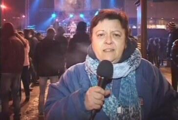 Kruševac u Novogodišnjoj noći (VIDEO)