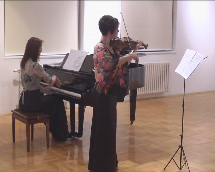 Mina Mendelson i Senka Simonović nastupile u Narodnom muzeju