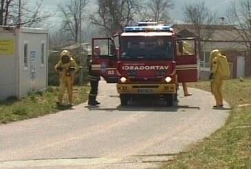 Taktičko – pokazne vatrogasne vežbe u Fabrici vode Majdevo