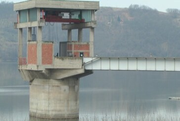 Nivo jezera Ćelije trenutno u blagom porastu, što je normalno za ovo doba godine