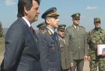 Ministar Gašić obišao radove u okviru priprema za vežbu u kasarni Ravnjak