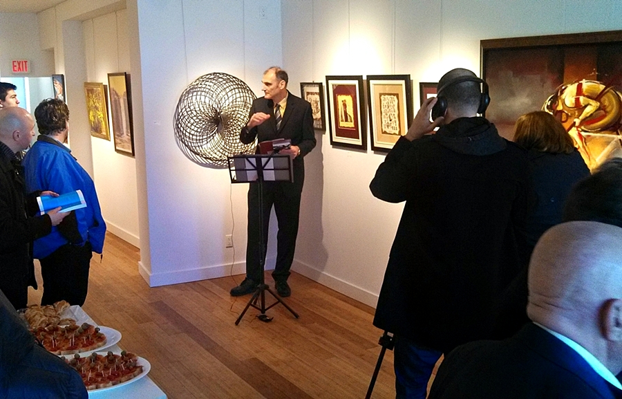 Na izložbi u Kanadi troje umetnika iz Kruševca