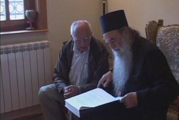 Episkopu kruševačkom Davidu uručen Nomokanon Svetoga Save