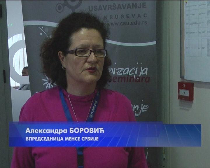 Mensino prolećno testiranje u Kruševcu