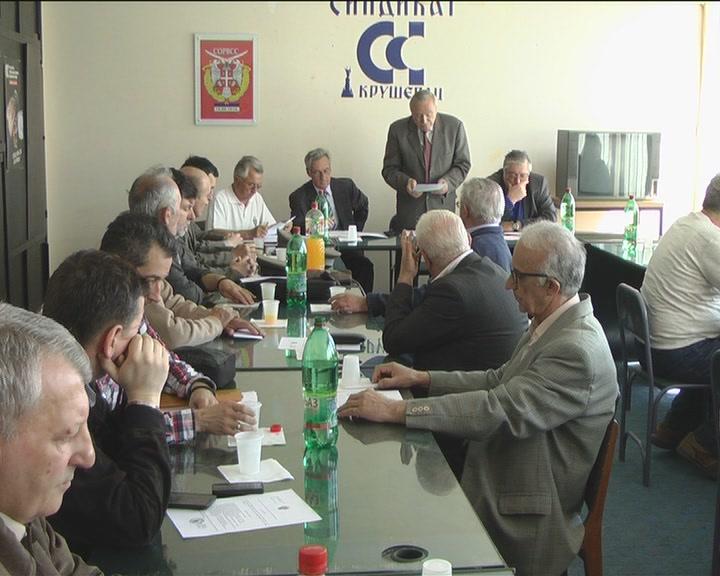 Godišnja Skupština kruševačkih rezervnih vojnih starešina