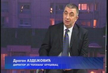 Direktor gradske Toplane Dragan Azdejković predhodnu sezonu ocenio uspešnom
