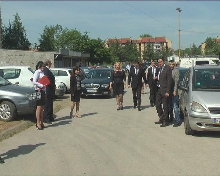 Ministri obišli radove na izgradnji stambenog kompleksa Prnjavor 2
