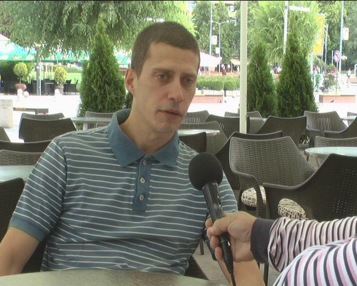 Dušan Nastasijević optimista pred kružnu trku na Ušću