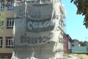U OŠ Nada Popović u toku su radovi na zameni fasade