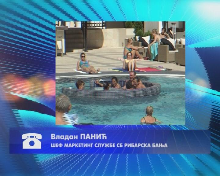"""U Ribarskoj Banji sezona u punom jeku, veliko interesovanje za akciju """"Letujte u Srbiji"""""""