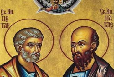 Dan svetih apostola Petra i Pavla