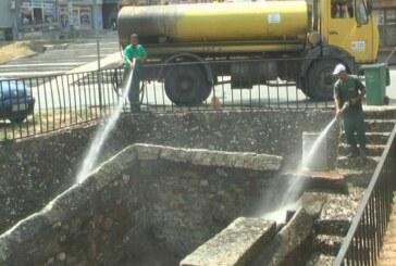 Akcija čišćenja česama u gradu