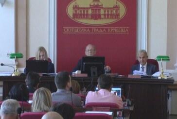 Na sednici Skupštine Grada Kruševca najviše pažnje usmereno na predlog Odluke o rebalansu gradskog budžeta