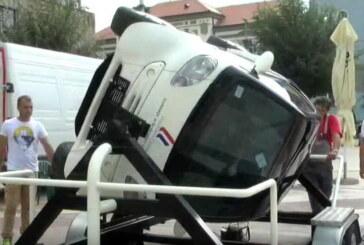 Kruševljanima predstavljeni simulatori koji pokazuju efekat sigurnosnog pojasa