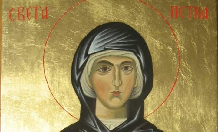 Sveta Petka – omiljena srpska Svetiteljka