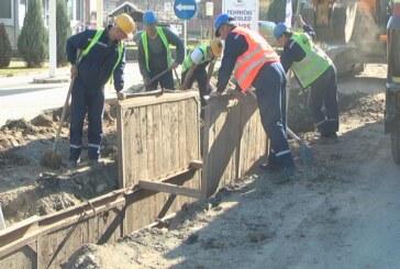 Radovi na izgradnji prve grupe kolektora