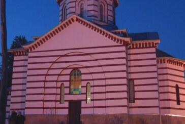 Gašić u crkvi Svete Petke u Šancu