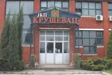 Brojnim utuženjima JKP Kruševac uspelo da izmiri veći deo dugova