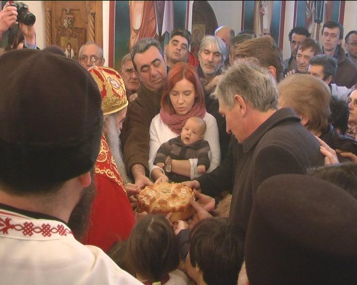 U Lazarici svečana liturgija povodom krsne slave