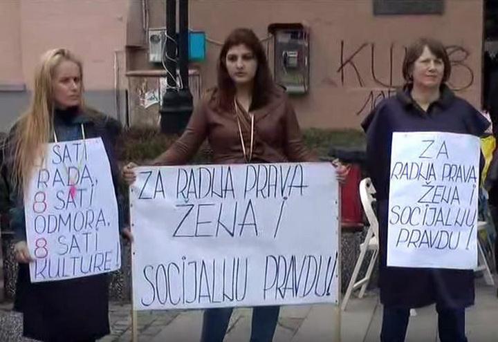 Udruženje žena Peščanik i Mreža braniteljki ženskih prava povodom 8. marta