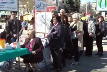 """Štand Doma zdravlja """"Sloga medik"""" povodom 8. marta u centru grada"""