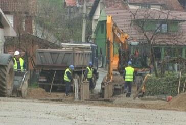 Na Bagdali 3 u toku izgradnja kolektora atmosferske kanalizacije