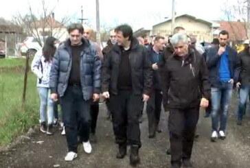 Gradonačelnik Kruševca Dragi Nestorović obišao infrasturkturne radove u više mesnih zajednica