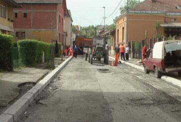 Radovi na rekonstrukcija Kajmakčalanske ulice