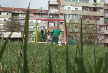 Uređenje parkovskih površina i mobilijara za decu