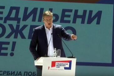Aleksandar Vučić u Kruševcu