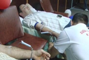 Akcija dobrovoljnih davalaca krvi JP Poslovni centar Kruševac