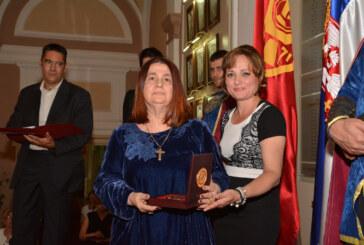 Ljiljana Habjanović Đurović dobitinica Vidovdanske nagrade Grada Kruševca