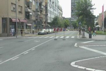 Obustavljen saobraćaj u Vidovdanskoj, u zoni raskrsnice kod tržnog centra Fontana