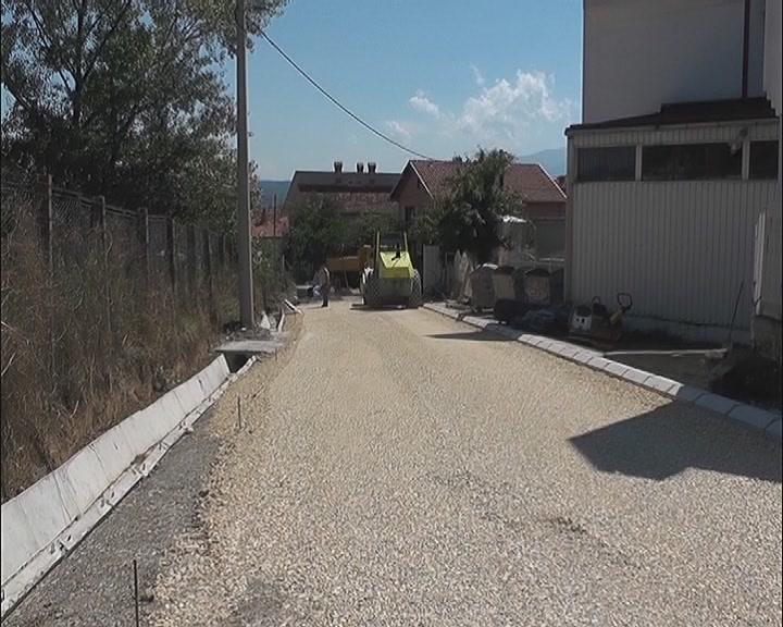 Radovi u naselju Šumice