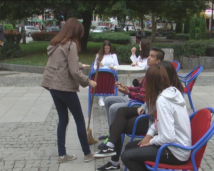 Forum teatar mladih  na Trgu mladih u Kruševcu