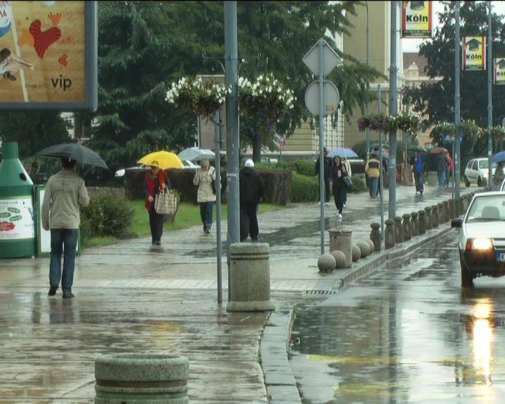 Protekle noći palo oko 32 litra kiše, vodostaj ispod kvote odbrane od poplava