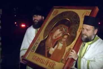 U Kruševac iz Rusije stigla Ikona Presvete Bogorodice Kazansko-Prizrenske