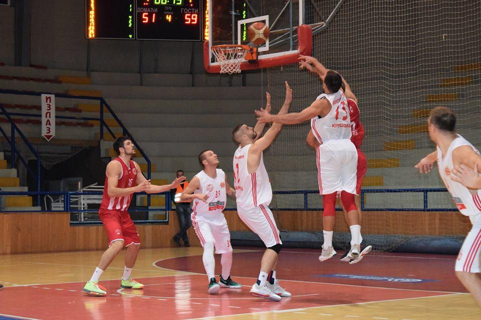 Poraz košarkaša Napretka u Kruševcu