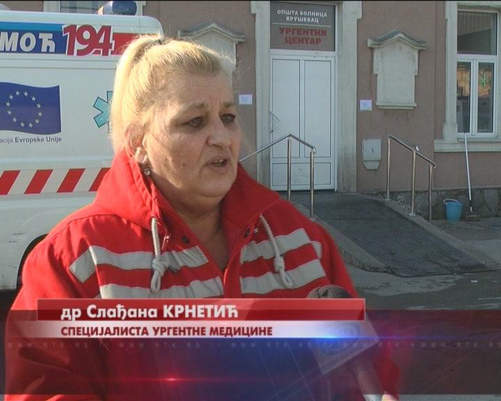 Hitna pomoć tokom vikenda imala povećan obim posla