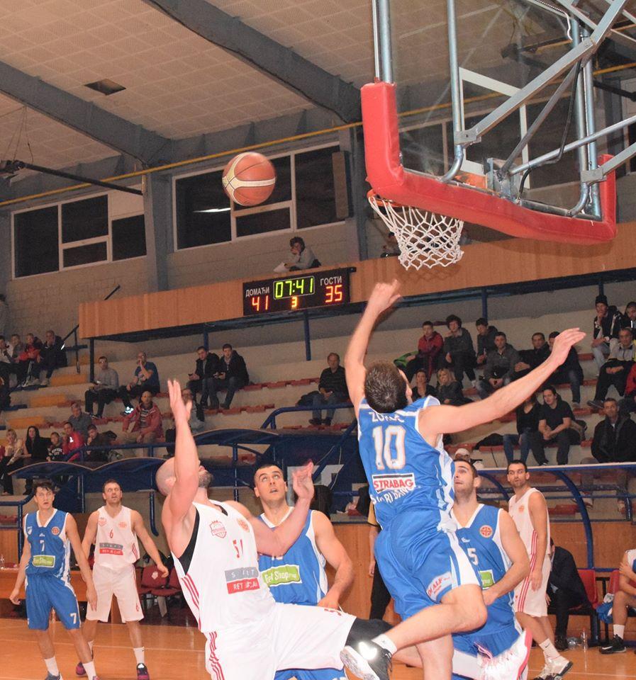 Košarkaši Napretka pobedili Dunav (72:63)