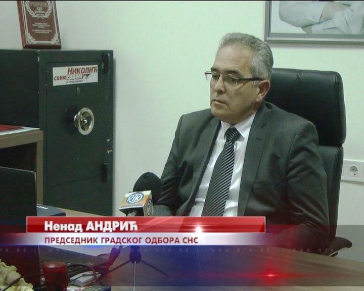 Nenad Andrić, predsednik Gradskog odbora Srpske napredne stranke: Vidan napredak oporavka privrede