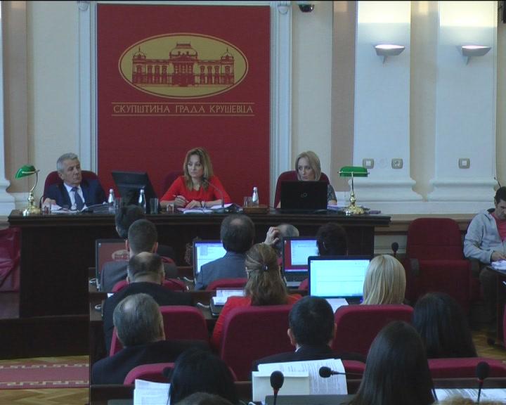 Na sednici Skupštine Grada Kruševca odbornici usvojili predloženi budžet za 2017.