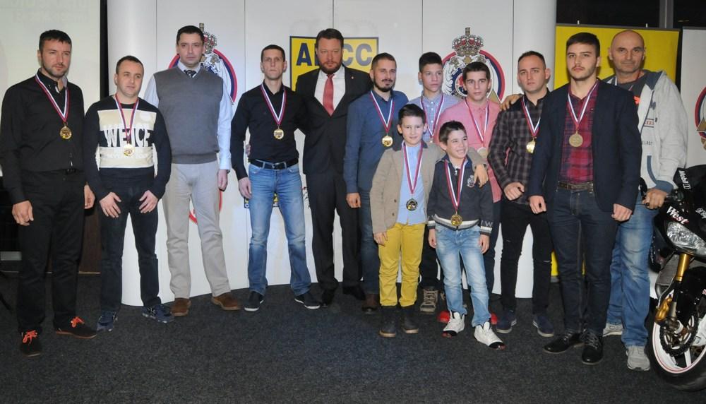 U Kruševcu svečana godišnja dodela nagrada u moto sportu