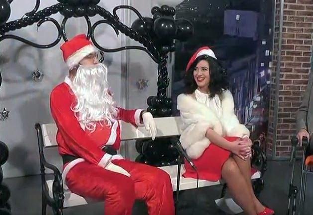 Snimanje Novogodišnjeg programa Televizije Kruševac